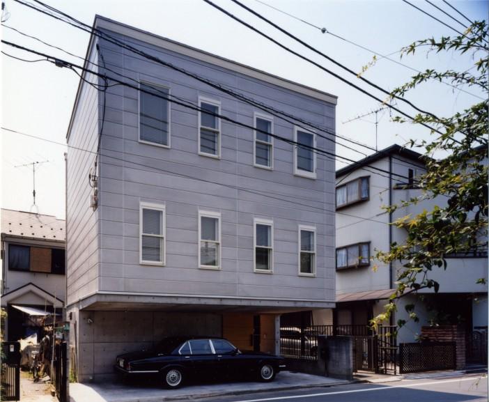 あるデザイナーの住宅
