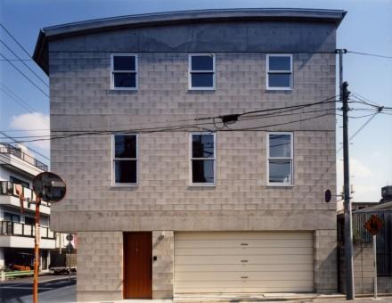 コンクリートブロックの家02